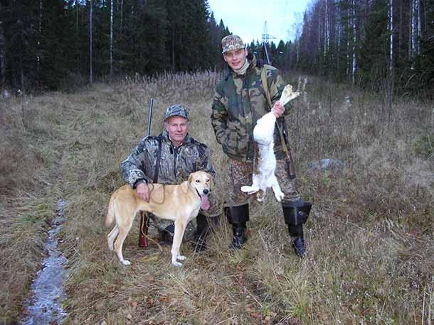 Охота с гончей