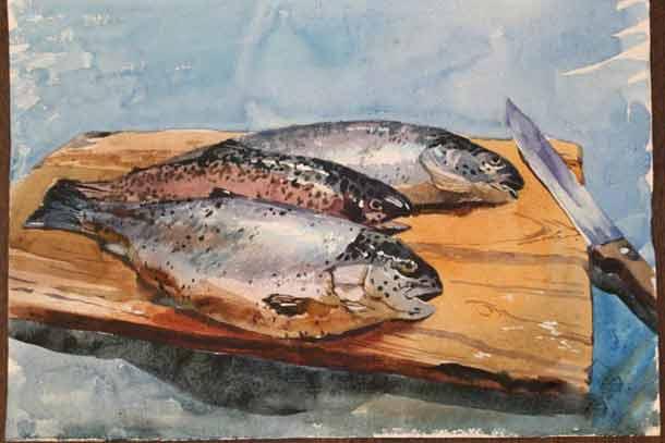 Кухня рыболова